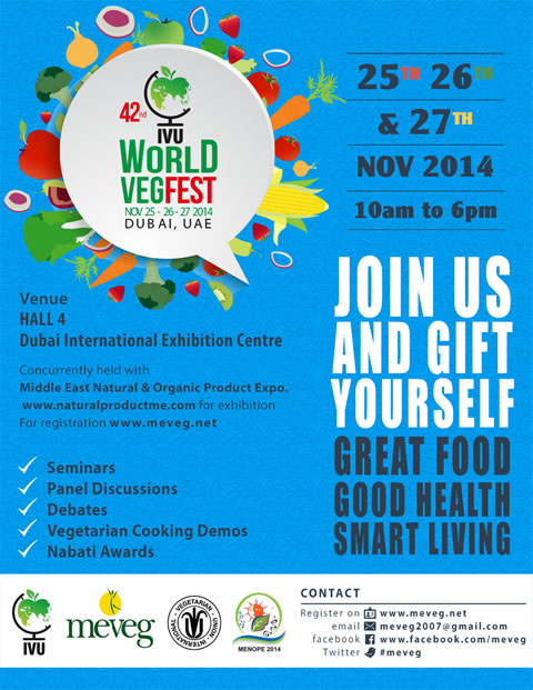 42nd IVU World VegFest 2014 - MEVEG10